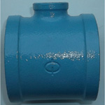Pipe-End Anticorrosion Fitting, RCF-K-Type, Standard Product, Reducing Tees