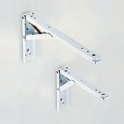 "One-Touch Folding Shelf Bracket ""Touch-Pon"""