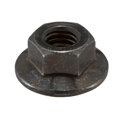 Flanged Nut without Serrations, Large Flange