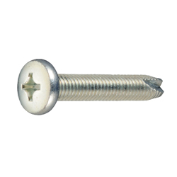 Cross Recessed Binding Head Tapping Screws, 3 Models Grooved C-1 Shape