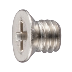 No.0, Type 1 Phillips Small Low Flat Head Screws