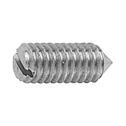 Slot Set Screw Conical Tip