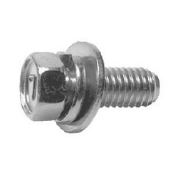 Steel 7 Mark Small Size Hexagon Upset-Head Bolt P=3 (SW+JIS Washer Included)