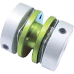 Disc-Shaped Coupling - Set Screw Type (Double Disc) -