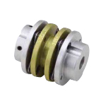 Disc-Shaped Coupling - Set Screw Type (Double Disc) - [SDAA]
