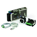 Controller built-in micro step driver & stepping motor set CSA-UP series (power supply unit USB-RS485 compact)