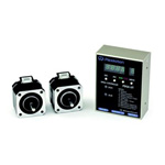 Two-shaft simultaneous drive speed controller and stepping motor two-unit set CSA-UT series