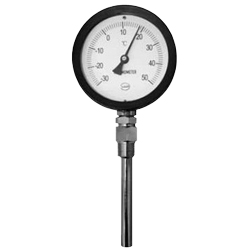 Saucer-Planning S-shaped Bimetal Thermometer