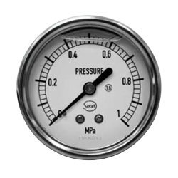 Socer Planning Glycerin Pressure Meter / Compound Gauge / Vacuum Gauge - D Type