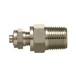 SUS316 Stainless Steel Double Ferrule Fitting Male Vent Plug