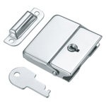 Square Snap-fit Lock with Key, C-85