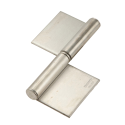 Stainless Steel, Double-Sided, Flag Hinge for Heavy-Duty Use B-1003