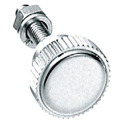 Stainless Steel, Small, Knurled Knob Fastener A-1040 (Male and Female Threads)