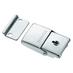 Stainless-Steel Square-Shaped Snap Lock With Key C-1083