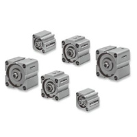 Thin pneumatic cylinder Standard type 10S-1 Series