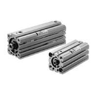 Slim Pneumatic Cylinder, Rotation-less 10S-6G Series
