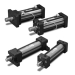 16-MPa Short Tie-Rod Hydraulic Cylinder 160ST-1 Series