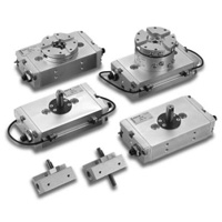 Rack/pinion shaped rotary actuator 7RP3 series