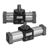 Rack/pinion shaped rotary actuator TRA-1 series