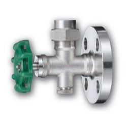 Sealed Specification Stainless Steel Gauge Valve (Screw-In / Flange Type)