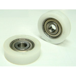 Bearing DT with resin (POM insert molded JIS bearing)