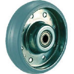 Press Type Gray Rubber Caster 'High Tensile Caster' (Non Tire Marking) Replacement Wheels