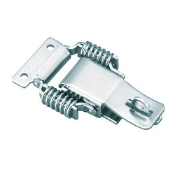 Patch Locks Spring Type with Keyhole Steel