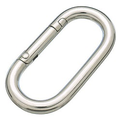 Ring Catch 'Carabiner Junior' (Stainless Steel)