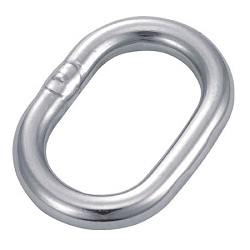 Oval Link (Stainless Steel)