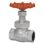 16K Type Ductile Cast-Iron Screw-in Globe Valve <Union Bonnet Type>