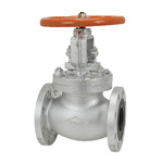 16K Type Ductile Cast-Iron Flanged Globe Valve <Bolted Bonnet Type>