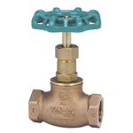 J10K Bronze Screw Down Ball Valve (Metal Sheet) (JIS B 2011) <<This Product Displays The New JIS Mark.>>