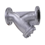 16K Type Ductile Cast-Iron Flanged Strainer (Y Shape)