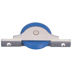 MC Soundproof Flatter Door Roller with Bearings MC Nylon Wheel