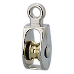 Single Pulley With Fixed Swivel