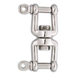 Stainless Steel Dual/Single Screw Swivel