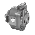 AR series variable piston pump - single-stage pump, pressure compensator control type