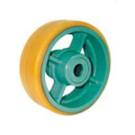 Urethane Rubber Wheel (UHB Type) for Heavy Loads