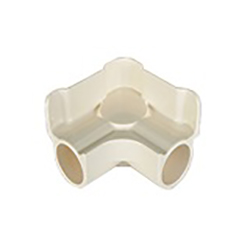Erector Parts Caster Mounting Part Plastic Joint JG-11B